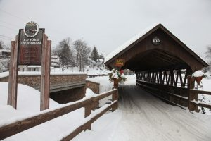 old covered bridge